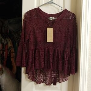 Adorable layered top